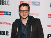 Four-time Tony nominee Raúl Esparza steps out.