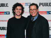 Director Michael Greif and his son Noah get together.