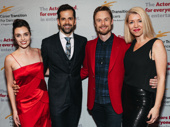 There are some fancy feet in this photo! Shannon Rugani, Robbie Fairchild, Christopher Wheeldon and Kelly Devine get together. Congrats to all those recognized at this year's Actors Fund Gala!