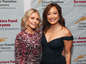 Kelly Ripa and dancer/choreographer Carrie Ann Inaba are all smiles for Inaba's honor.