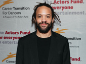 Tony-winning choreographer and epic hoofer Savion Glover hits the red carpet.