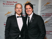 John DeLuca and Rob Marshall attend the annual Actors Fund Gala.