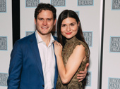 The Parisian Women's Phillipa Soo steps out to support her husband Steven Pasquale on opening night.