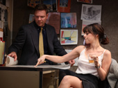 Jim Parrack as Ben and Krysta Rodriguez as Eliza in What We're Up Against