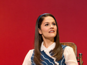 Catherine Charlebois as Nessarose in the national tour of Wicked