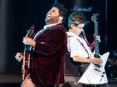 Rob Colletti & Phoenix Schuman in the School of Rock tour