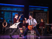 The cast of the School of Rock tour