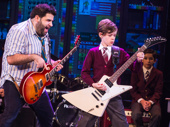 Rob Colletti & Phoenix Schuman in the School of Rock tour