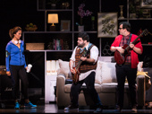 Emily Borromeo, Rob Colletti & Matt Bittner in the School of Rock tour