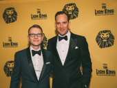 The Lion King's Cameron Pow and Stephen Carlile have arrived.