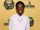 The Lion King alum and Stranger Things star Caleb McLaughlin hits the red carpet.