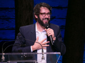 Hats off to the evening's honoree Josh Groban, who received the Ian McKellen Award.(Photo: Alan Perlman for OMB)