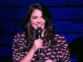 We're sure the evening's host Cecily Strong had the audience in stitches.(Photo: Alan Perlman for OMB)