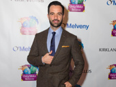 Anastasia hunk Ramin Karimloo snaps a pic.(Photo: Jessica Earnshaw for OMB)
