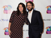 Cecily Strong and Josh Groban snap a sweet pic.(Photo: Jessica Earnshaw for OMB)