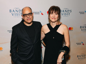 The Band's Visit music man David Yazbek and his wife Elizabeth Doberneck