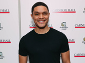The Daily Show host Trevor Noah attends The Children's Monologues.