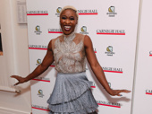 Tony winner Cynthia Erivo is back in New York!