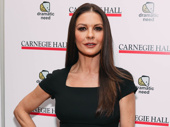 Catherine Zeta-Jones strikes a pose.