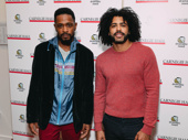 Lakeith Stanfield and Daveed Diggs step out.