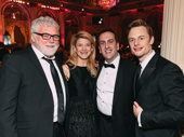 Rich Hebert, Vicki Clark, Brigadoon director Rob Berman and Christopher Wheeldon