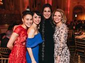 Patricia Delgado, Sara Esty, Stephanie J. Block and Kelli O'Hara