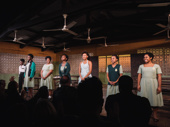 The cast of School Girls; Or, The African Mean Girls Play takes a bow.