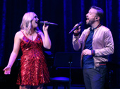 Evynne Hollens and Peter Hollens in Home For the Holidays.