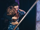 Chilina Kennedy and Evan Todd share a hug before the final number.