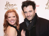 Theater couple Patti Murin, who will soon star in Frozen on Broadway and Colin Donnell.
