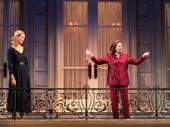 Uma Thurman as Chloe, Blair Brown as Jeanette and Phillipa Soo as Rebecca The Parisian Woman.
