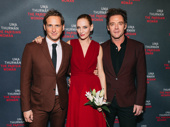 The Parisian Woman's Josh Lucas, Uma Thurman and Marton Csokas.