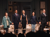 The Parisian Woman's Blair Brown, Josh Lucas, Uma Thurman, Phillipa Soo & Marton Csokas