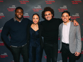 "Hamilton alums Okieriete ""Oak"" Onaodowan, Jasmine Cephas Jones, Andrew Chappelle and Anthony Ramos"