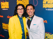 SpongeBob SquarePants director Tina Landau and choreographer Christopher Gattelli.