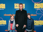 Tony winner Liev Schreiber and his children
