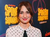 Waitress composer and lyricist and SpongeBob SquarePants song contributor Sara Bareilles