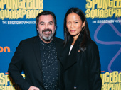 Tony-winning musical orechestrator Duncan Sheik and Nora Ariffin.