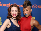 SpongeBob SquarePants' Lauralyn McClelland and Oneika Phillips(Photo: Getty Images & Jenny Anderson)
