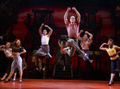 The cast of A Bronx Tale.