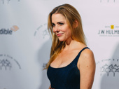Mean Girls' Kerry Butler takes a photo.