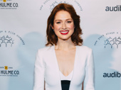 Unbreakable Kimmy Schmidt star Ellie Kemper attends the New York Stage & Film gala to celebrate the Netflix series' creator Tina Fey.