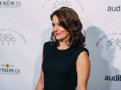 Mean Girls scribe and New York Stage & Film gala honoree Tina Fey gets glam.
