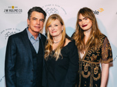 Stage and screen star Peter Gallagher steps out with his wife Paula Harwood and daughter, Broadway alum Kathryn Gallagher.