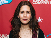 Tony nominee Jessica Hecht steps out.