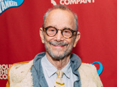 Broadway legend Joel Grey attends Roundabout's Damn Yankees benefit concert.