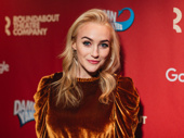 Waitress star Betsy Wolfe dazzles on the red carpet.