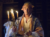 Mark Rylance as King Philiippe V of Spain in Farinelli and the King.
