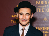 Farinelli and the King star Mark Rylance looks sharp.