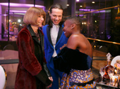 What could Anna Wintour, Jordan Roth and Cynthia Erivo be giggling about? We need to know.